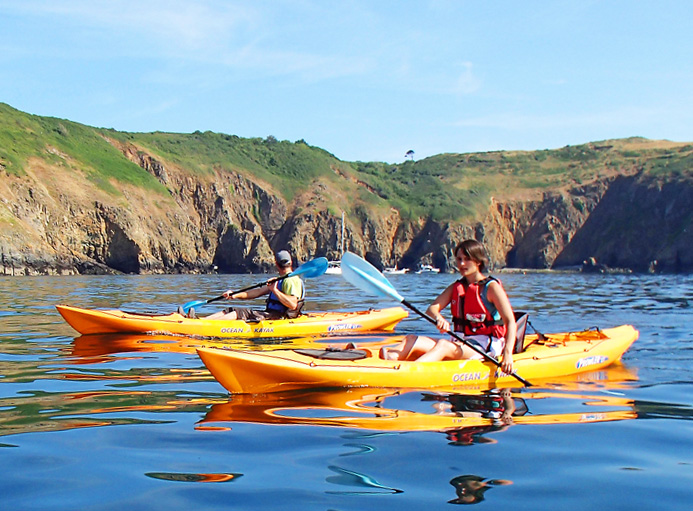Adventure Sark Kayaking