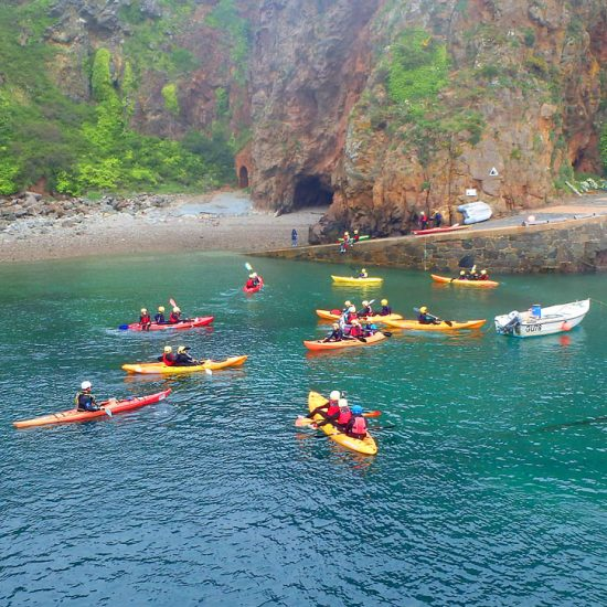 Sea Kayaking Around Sark