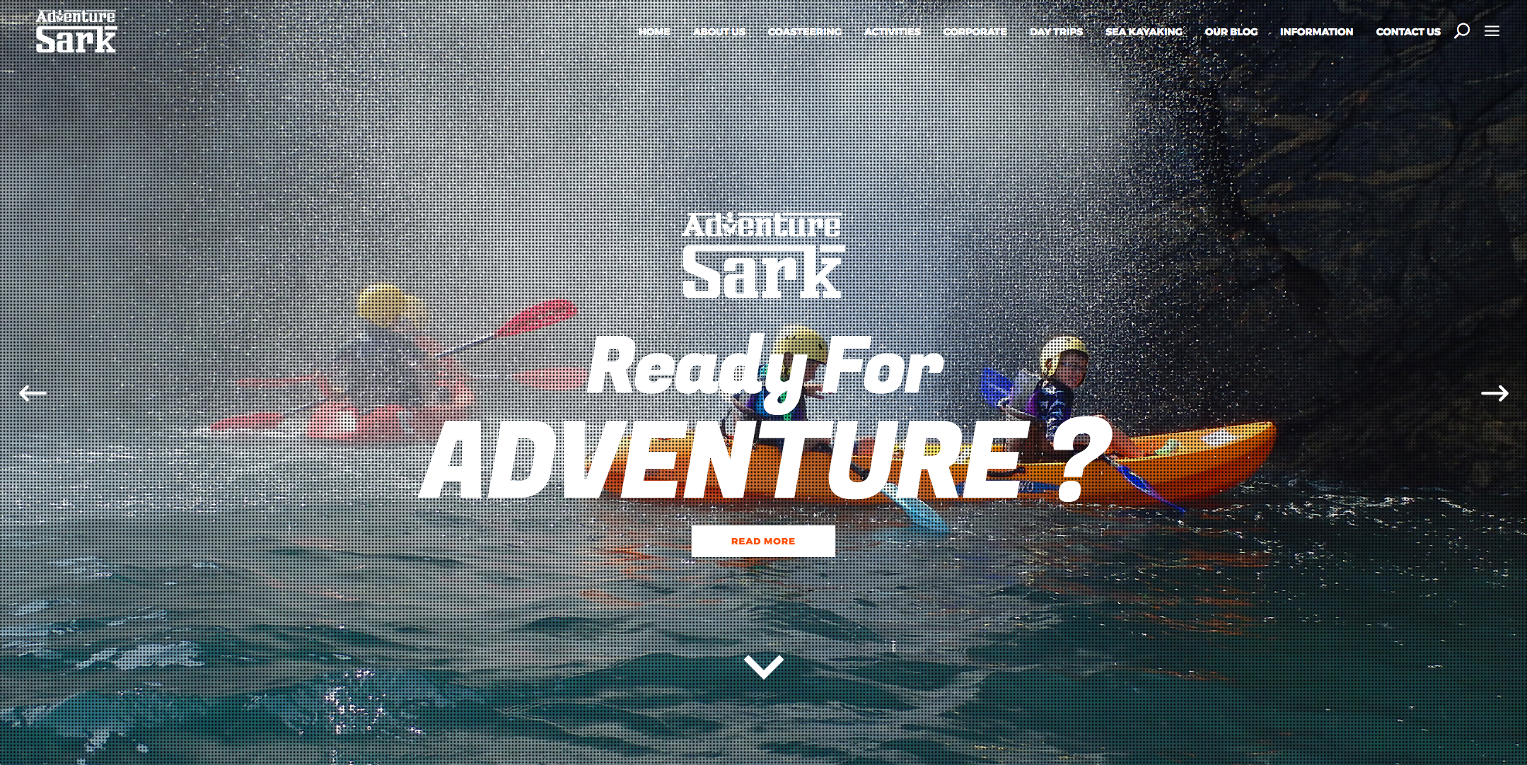 Adventure Sark Website 2019