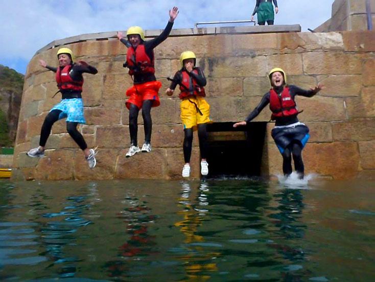 Adventure Sark Coasteering